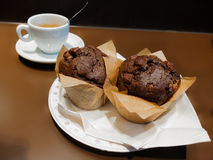 Muffins and coffe Royalty Free Stock Image