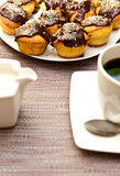 Muffins and coffee Stock Photography