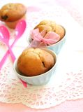 Muffins - confectioner's products sweetly baked Stock Images