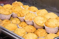 Muffins Cornbread Στοκ φωτογραφία με δικαίωμα ελεύθερης χρήσης