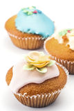 Muffins decorated Royalty Free Stock Images