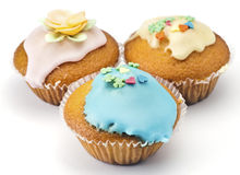 Muffins decorated Stock Image