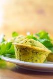 Muffins des strengen Vegetariers Stockfotografie