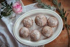 Muffins dla spesial okazi Obrazy Stock