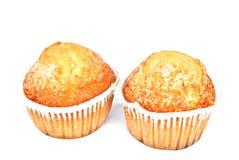 muffins dwa Obrazy Royalty Free
