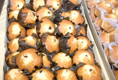 Muffins Filled With Chocolate