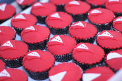 Muffins groom Stock Photos