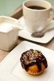 Muffins i kawa Zdjęcia Stock