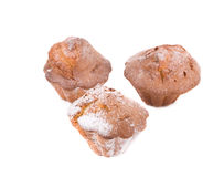 Muffins Isolated Royalty Free Stock Photos