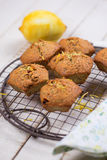 Muffins with lemon Royalty Free Stock Photo