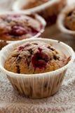 muffins malinowi obraz royalty free