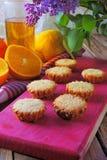 Muffins mit Frucht Lizenzfreies Stockbild