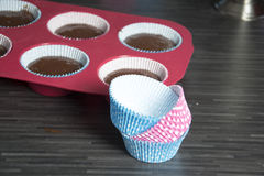 Muffins. A photo of some homemade muffins Stock Images