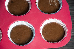 Muffins. A photo of some homemade muffins stock photography