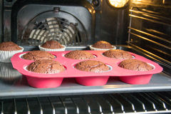 Muffins. Photo of some homemade muffins Stock Photo