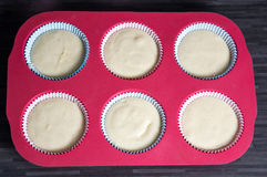 Muffins. Photo of some homemade muffins royalty free stock photo