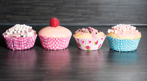 Muffins. Photo of some homemade muffins stock photography