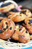 Muffins with raisins Royalty Free Stock Photos