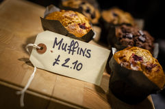Muffins on sale Stock Photography
