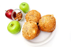 Muffins On A Saucer stock image