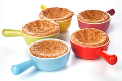 Muffins sponge cakes Royalty Free Stock Images