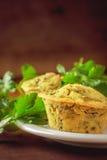 Muffins Vegan Στοκ εικόνα με δικαίωμα ελεύθερης χρήσης