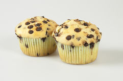 Muffins on white Stock Photography