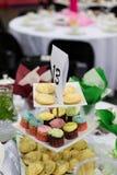 Muffinskärmpyramid Fotografering för Bildbyråer