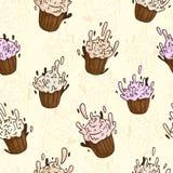Muffinspatroon Royalty-vrije Stock Afbeeldingen