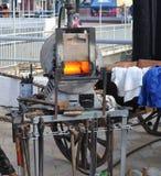 Muffle furnace Stock Image