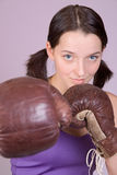 mufflers woman στοκ εικόνες με δικαίωμα ελεύθερης χρήσης