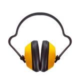 Muffs protetores da orelha Imagens de Stock Royalty Free