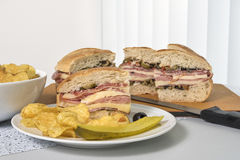 Muffuletta with Individual Serving Stock Photography
