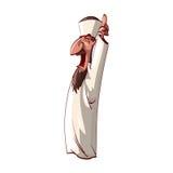 Muftis fâchés de bande dessinée Photos stock