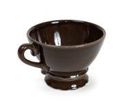 Mug. Ceramic mug and isolated on white. Clipping path Royalty Free Stock Image