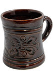 Mug. Coffee, Wine Or Tea Mug Isolated On White Stock Images