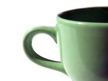 Mug. A half mug Royalty Free Stock Image