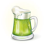 Mug of ale Stock Photo