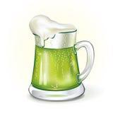 Mug of ale. Vector illustrated mug of ale stock illustration