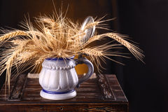 Mug of barley Stock Images