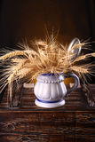 Mug of barley Royalty Free Stock Image