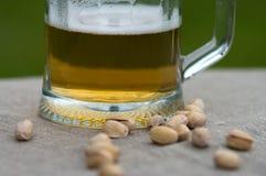 Mug with beer. Stock Photo