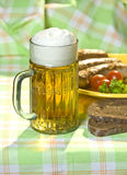 The mug of beer Royalty Free Stock Photography