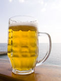 Mug beer Stock Photography
