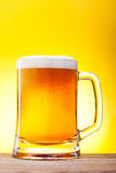 Mug with beer Royalty Free Stock Photography