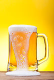 Mug with beer Royalty Free Stock Photos