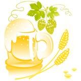 Mug of beer Royalty Free Stock Photo