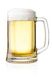 Mug with beer Stock Image