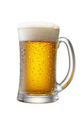 Mug of beer Royalty Free Stock Photo