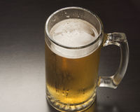 Mug of Beer. Alcholic beverage in a glass Stock Image